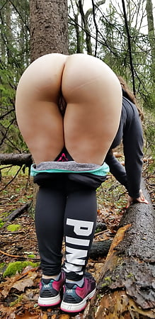 big Housewife butt chubby outdoor
