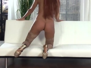 Roselee recommend Public pantyhose gym toys