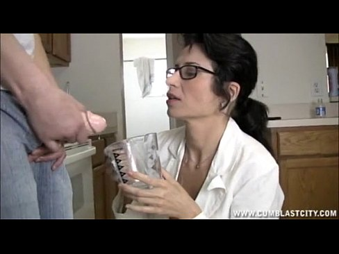 Sexy doctor messy cumming