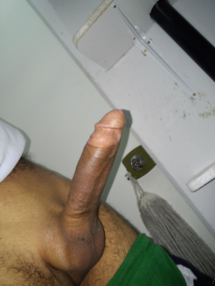 Handsome solo handjob office