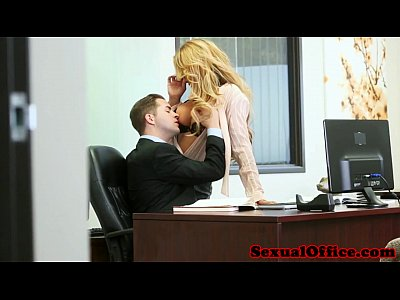 secretary makeout curvy Blonde