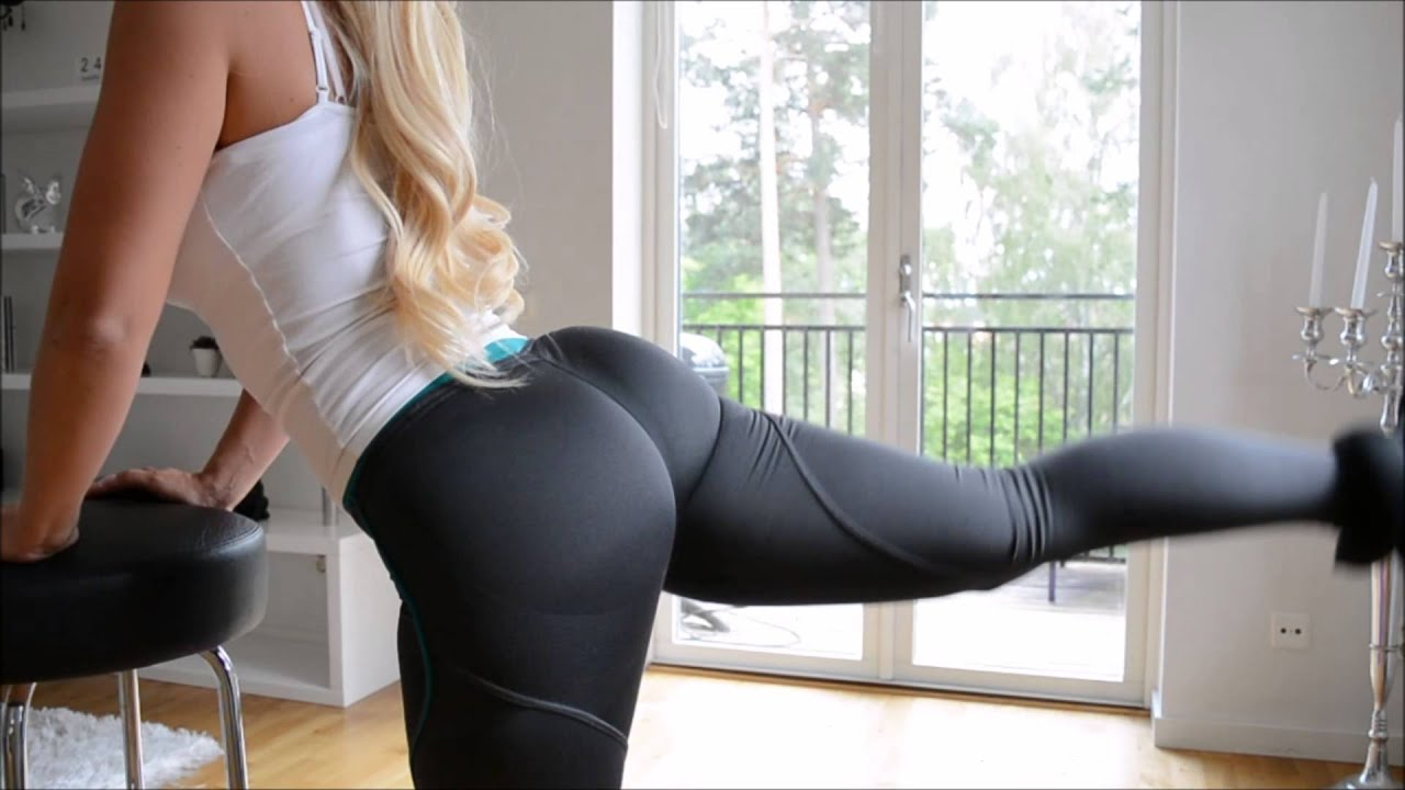 shared Gym pantyhose anal