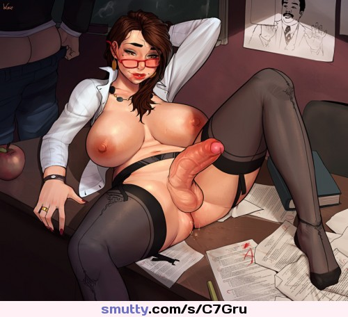 sissy anal Glasses office