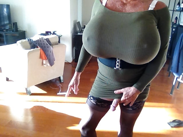 crossdresser Big dick webcam otngagged