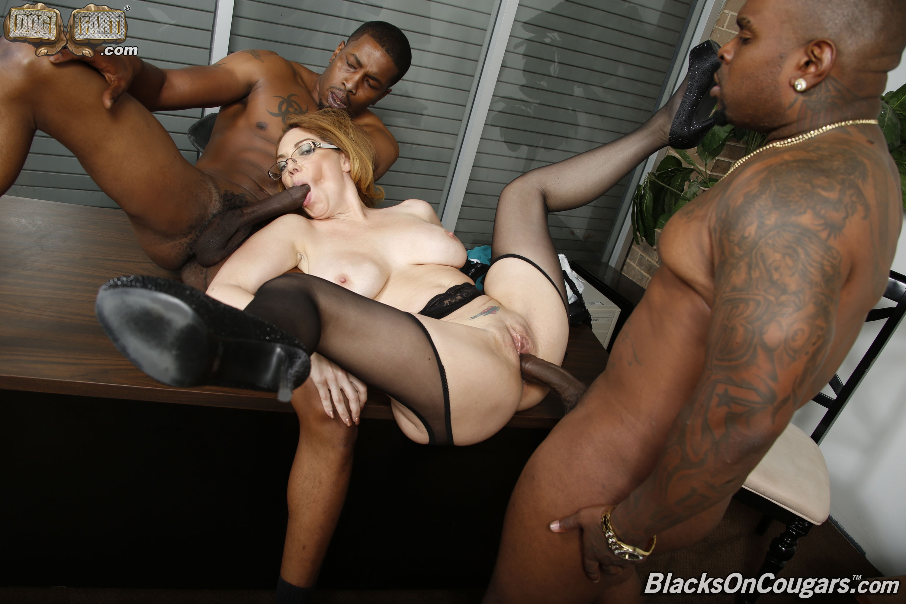 Domination long hair shower first time