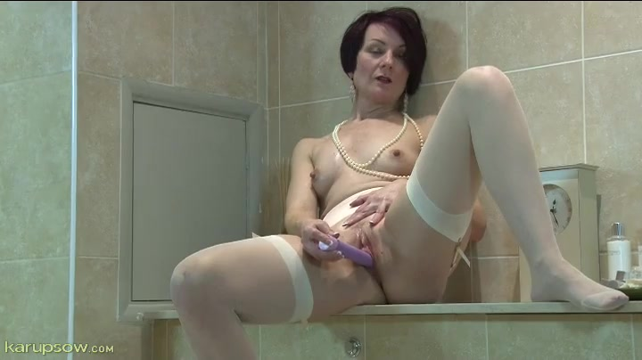 Stockings gay amateur pigtails