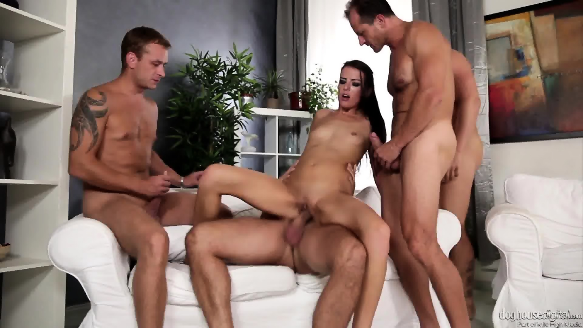 orgy group spyfam Brunette