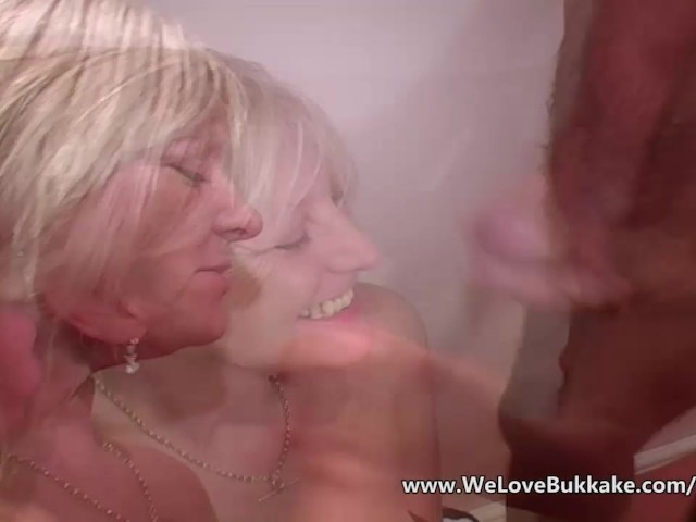 wife Bukkake otngagged ass