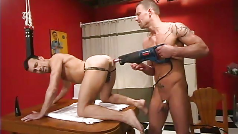 fucking Drilled muscle sport