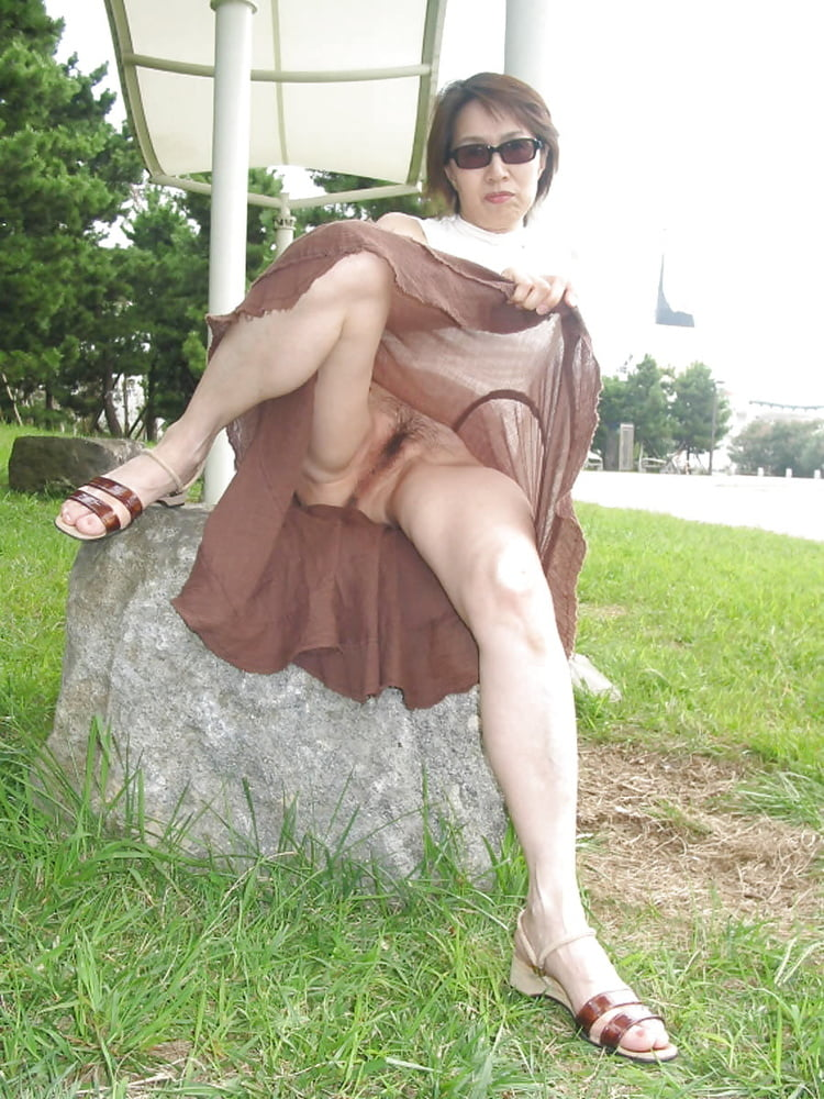 upskirt outdoor asian Black