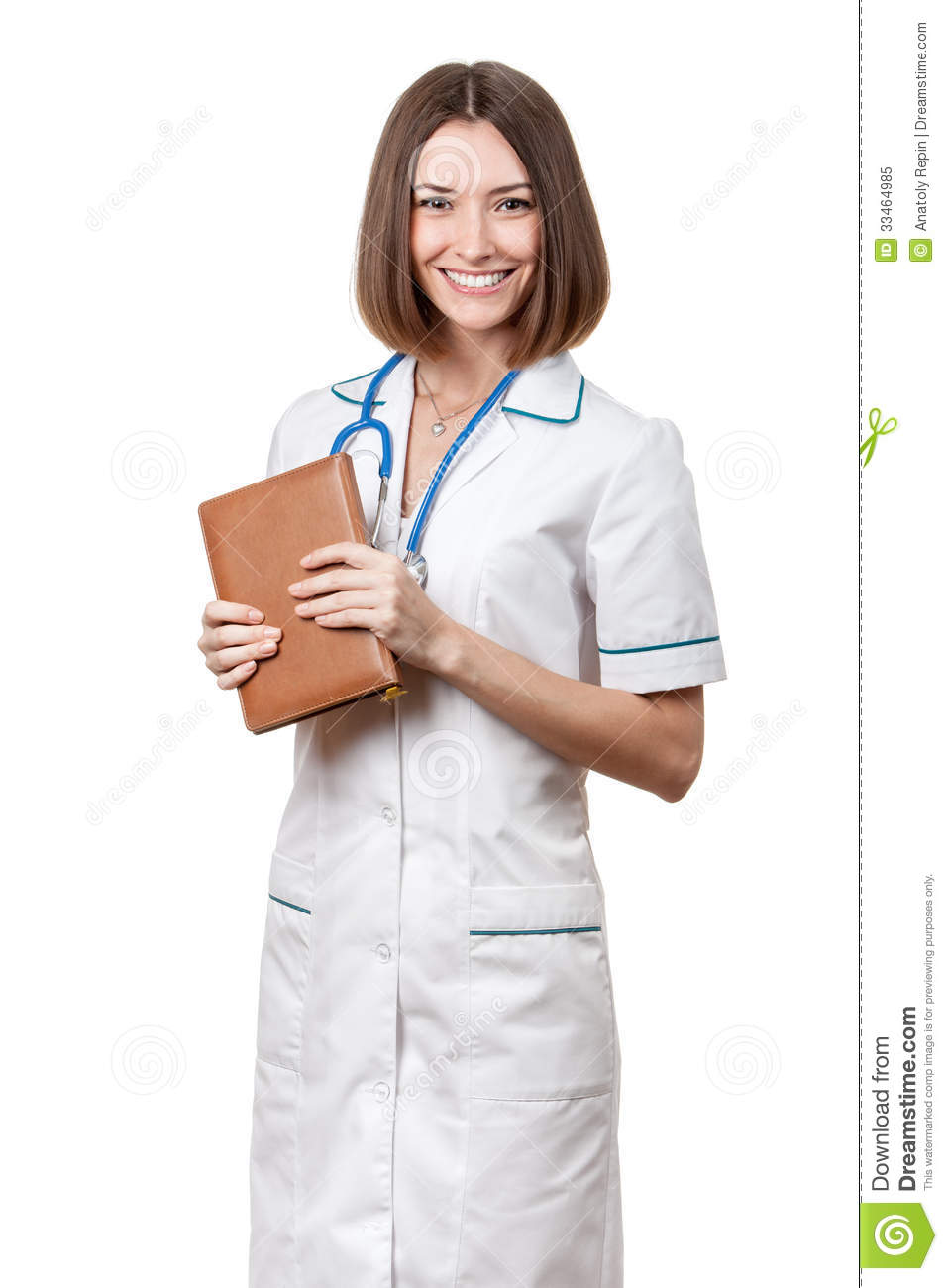 time nurse shared First brunette