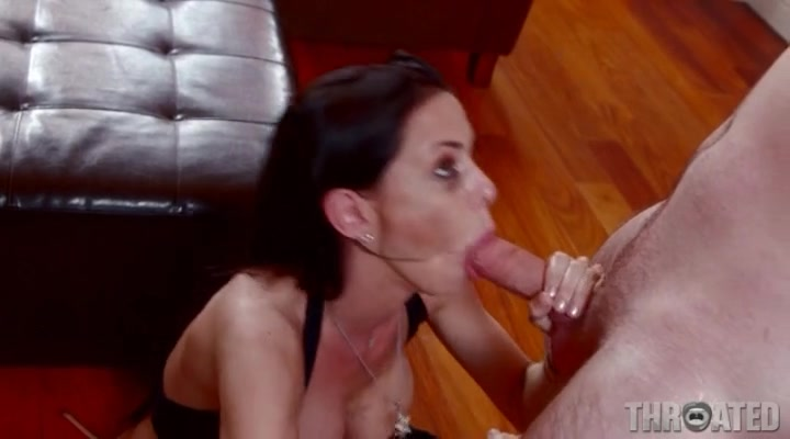 New porn 2019 Spy double blowjob mother gagging