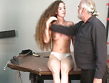 domination Long exhibitionist hair sexy